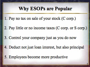 Why ESOPs are Popular
