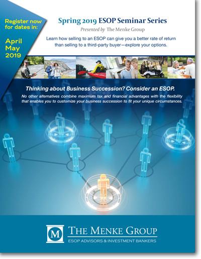 Spring 2019 ESOP Seminars